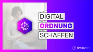 Digitale Ordnung Kurs - Freelancer werden
