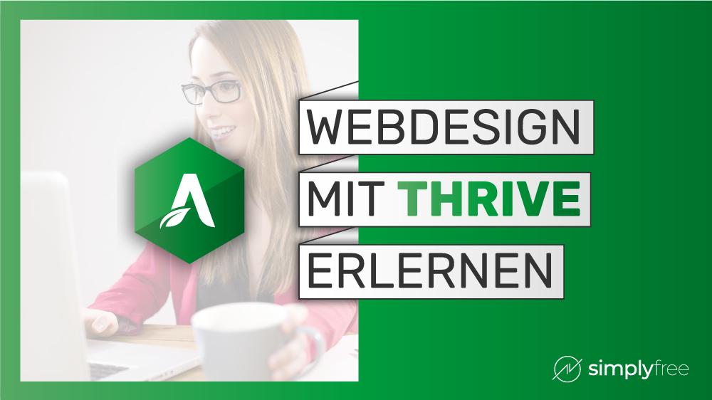Wordpress Thrive Webdesign - Freelancer werden