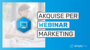 Webinar Marketing Kurs - Freelancer werden