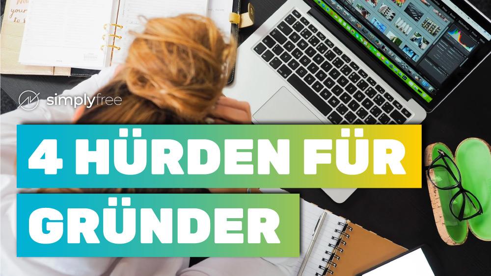Hürden für Gründer - Tipps für Freelancer - Freelancer werden