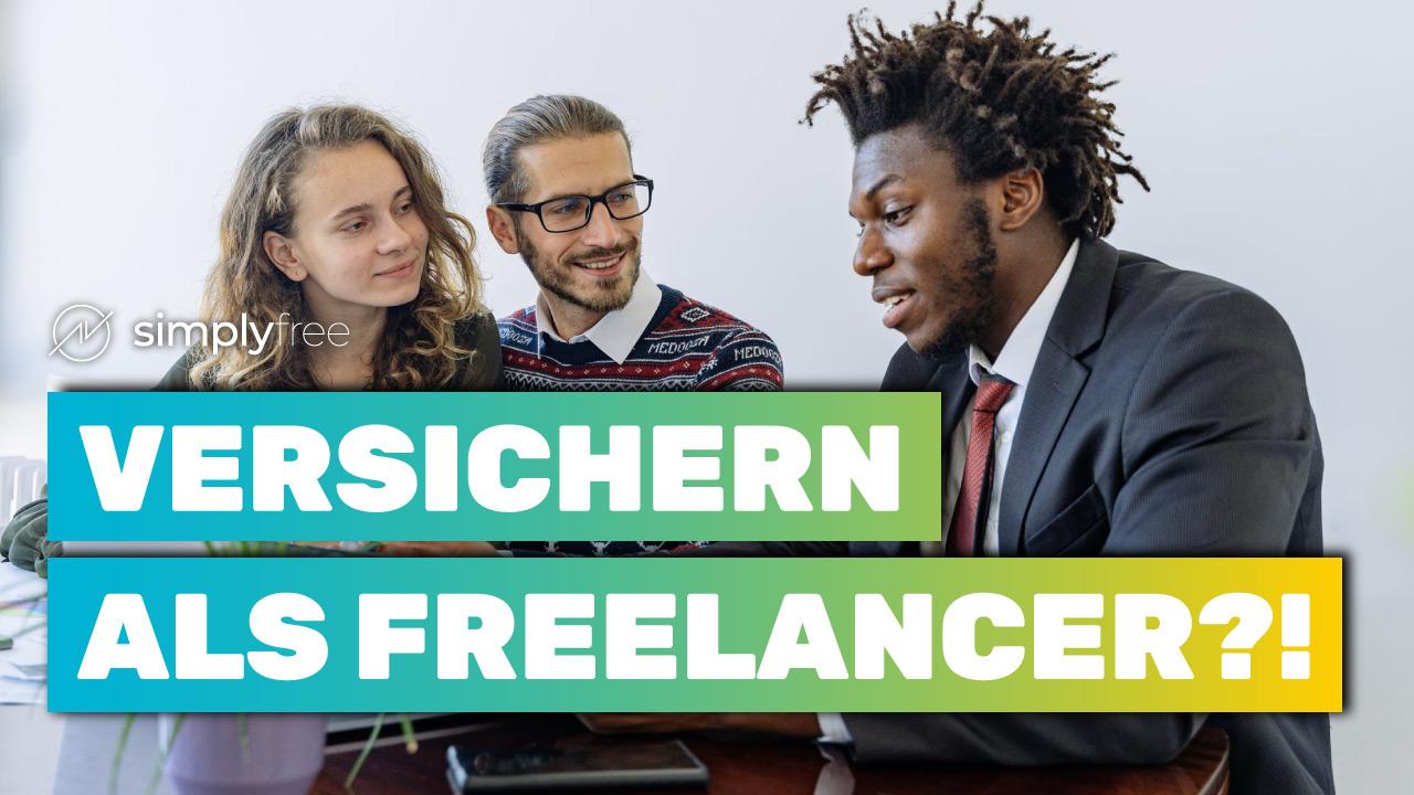 Versicherungen für Freelancer - Beitragsbild