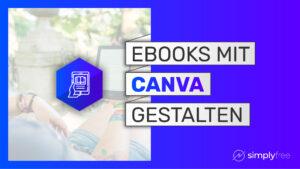 eBook Gestaltung Canva