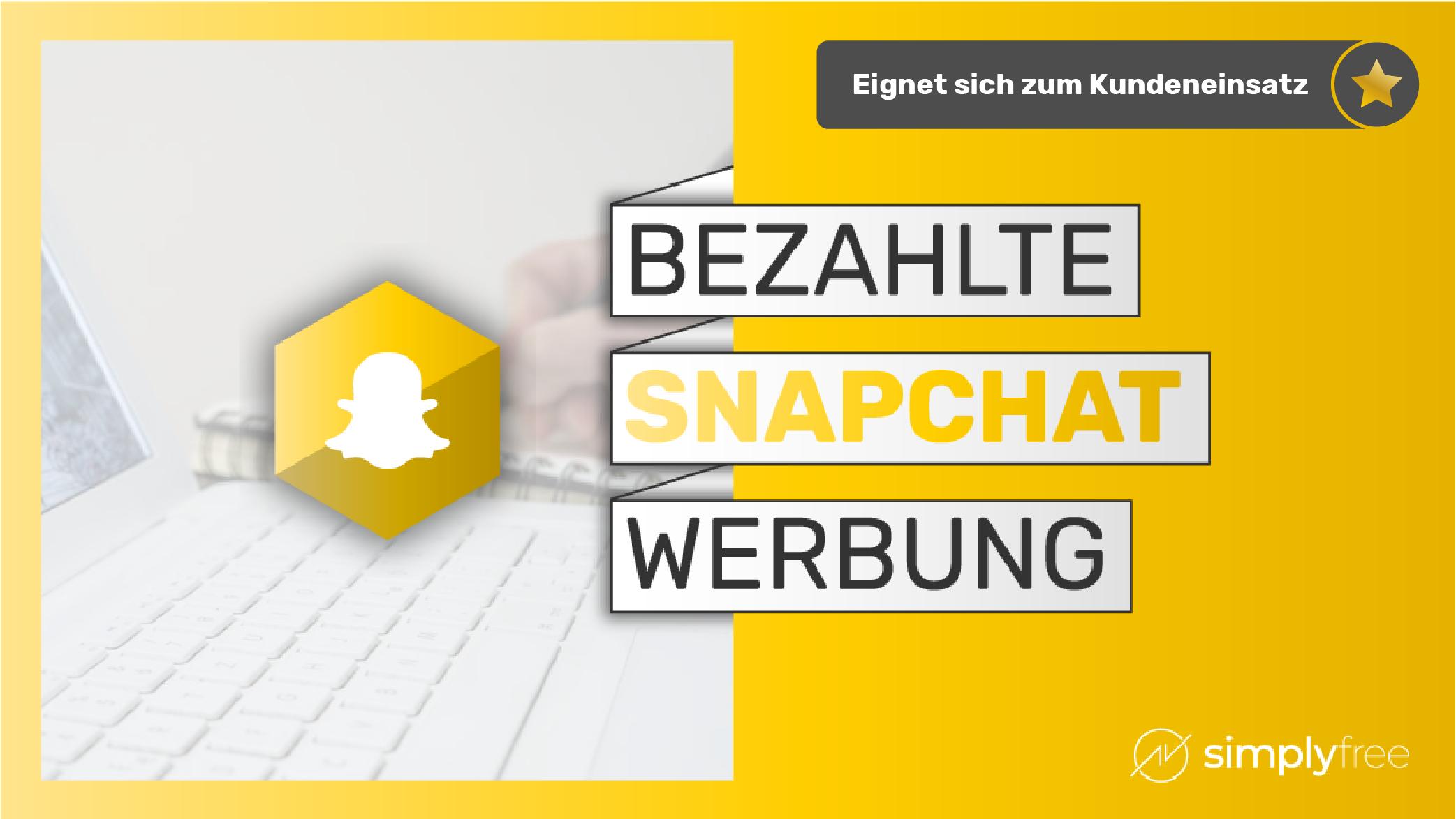Snapchat Werbung Kurs