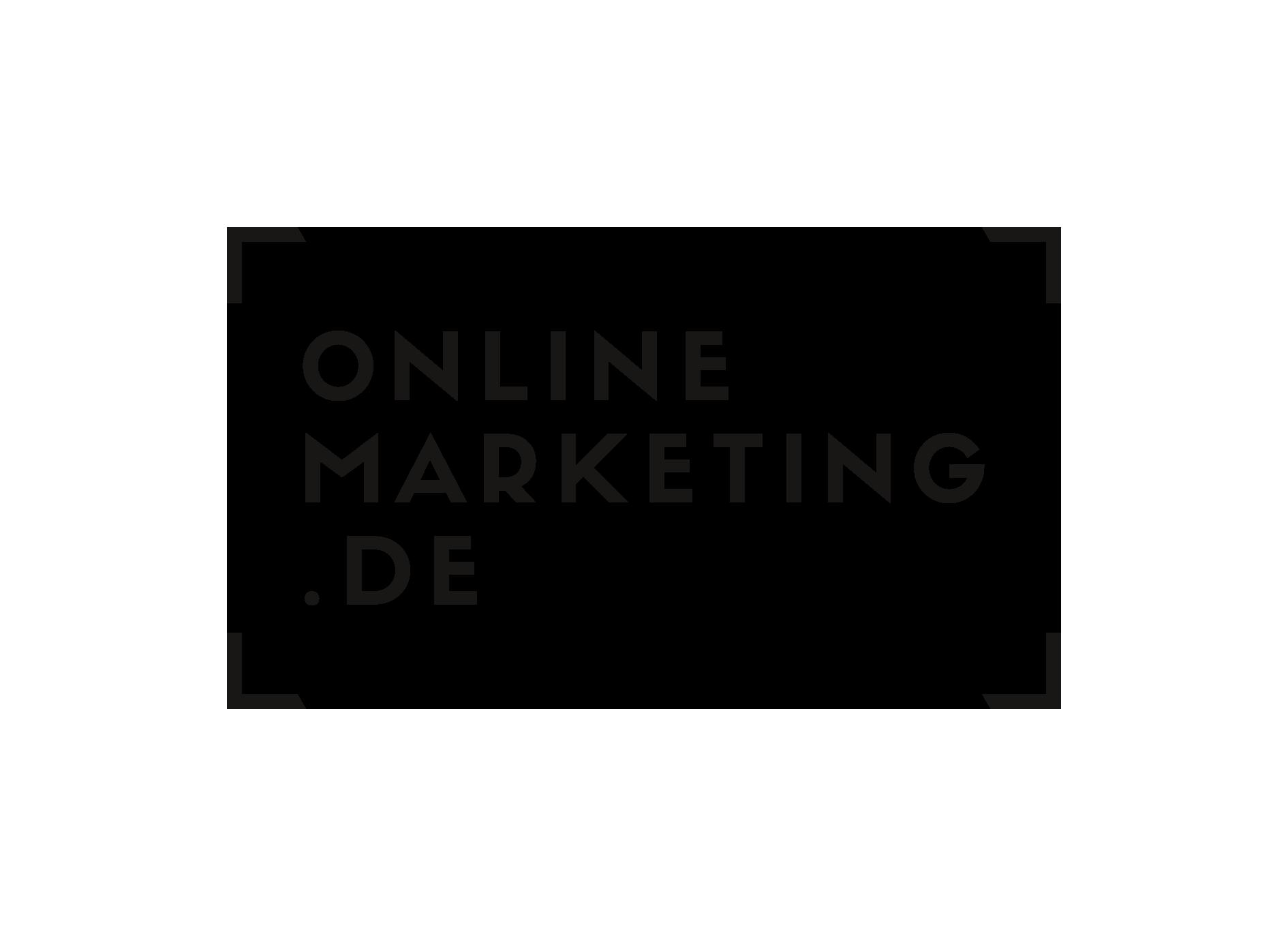 Logo OnlineMarketing.de – Freelancer werden