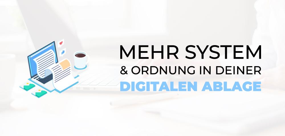 Digitale Ordnung